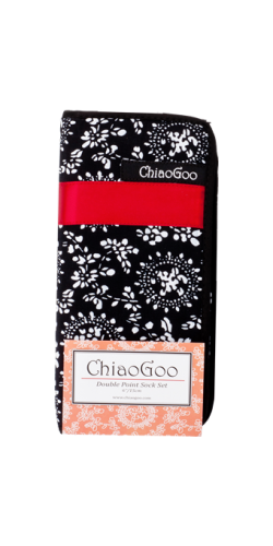 "ChiaoGoo 6"" DPN Sock Set Stainless Steel"