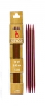 "Pony Rosewood 5-3/4"" Double Point Needles"