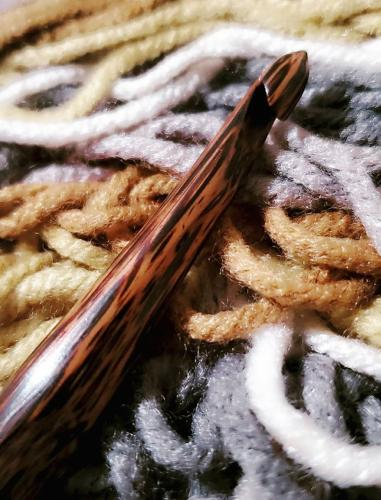 Forest Palm Crochet Hooks